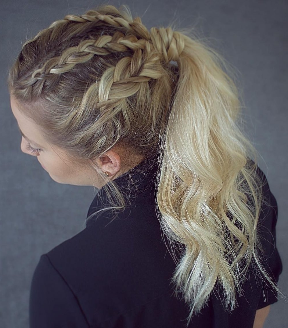 Top 44 Bohemian Hairstyle Ideas For 2018 With Best And Newest Braided Boho Locks Pony Hairstyles (View 10 of 20)