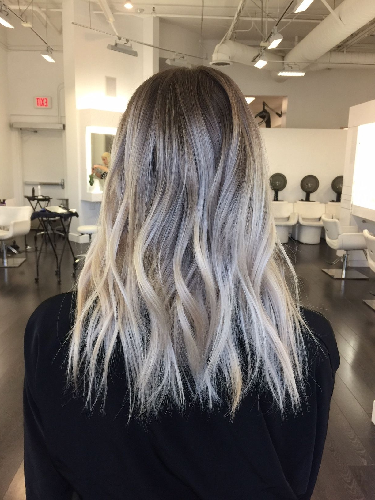 Transformation: Faded To Light Ash Rooty Blonde – Career (View 11 of 20)