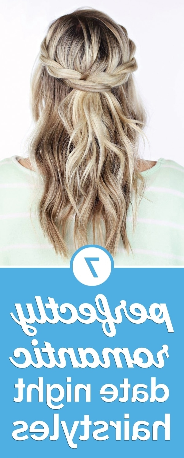 Trendy A Layered Array Of Braids Hairstyles With Regard To 7 Perfectly Romantic Date Night Hairstyles – Thegoodstuff (View 18 of 20)