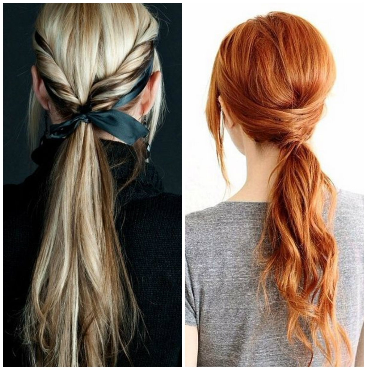 Trendy And Messy Ponytails Hairstyle Trend Of  (View 20 of 20)