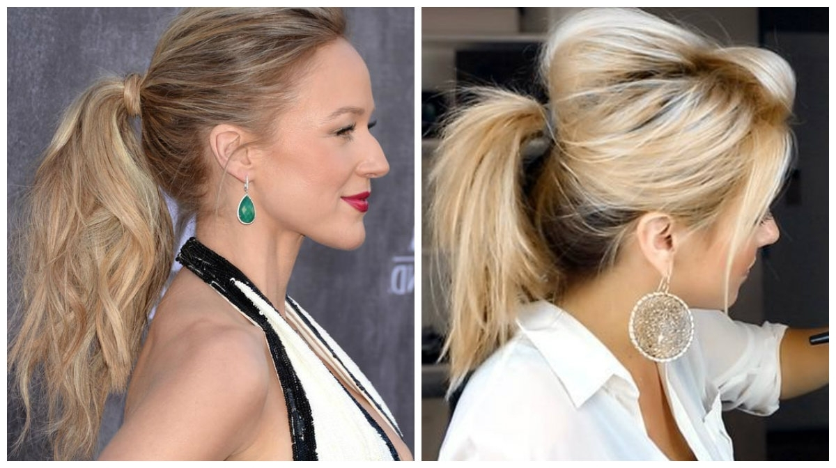 Trendy And Messy Ponytails Hairstyle Trend Of (View 3 of 20)