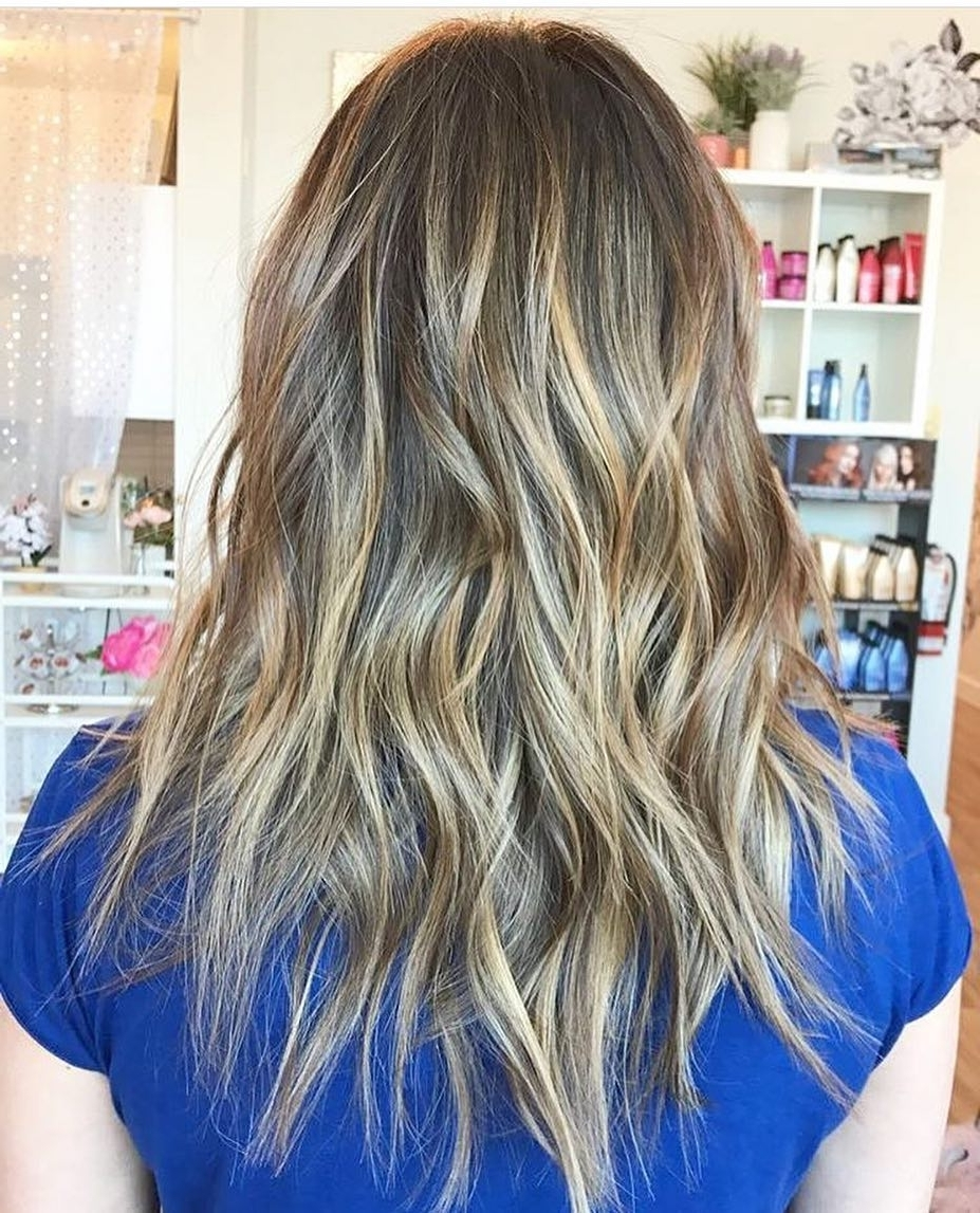 Trendy Bronde Beach Waves Blonde Hairstyles In 10 Layered Hairstyles & Cuts For Long Hair In Summer Hair Colors (View 12 of 20)