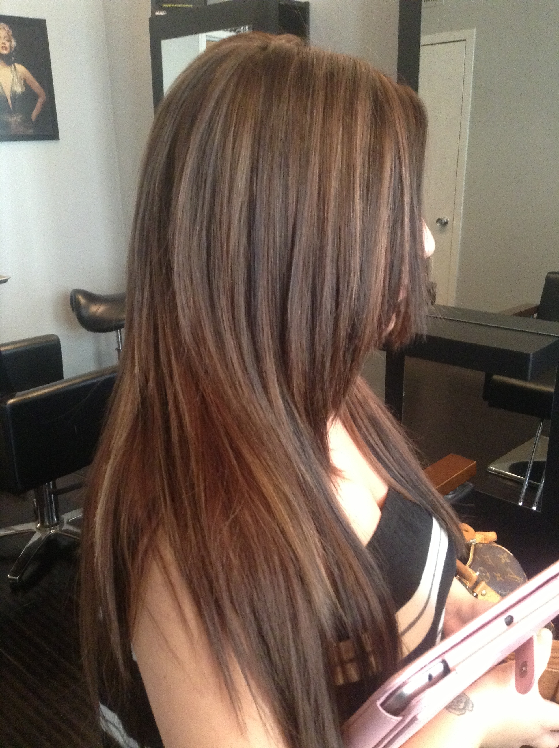 Trendy Brown And Dark Blonde Layers Hairstyles For 26 Medium Brown Hair With Caramel Highlights Fresh (View 17 of 20)
