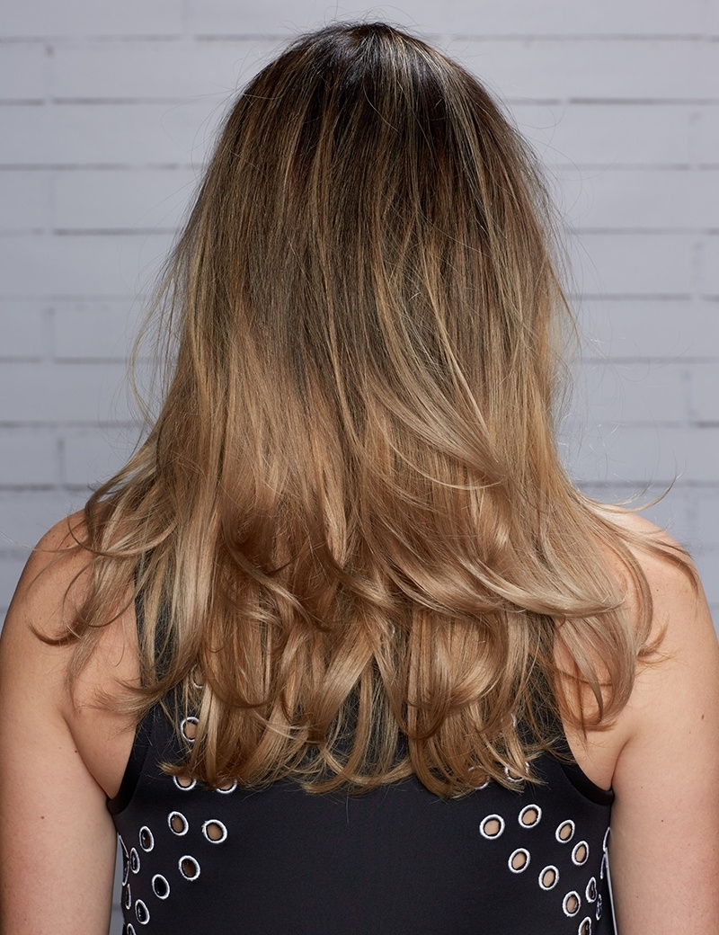 Trendy Caramel Blonde Hairstyles With Caramel Blonde Hair Color Kiss Of Caramel Blonde Ombre Haircolor (View 18 of 20)