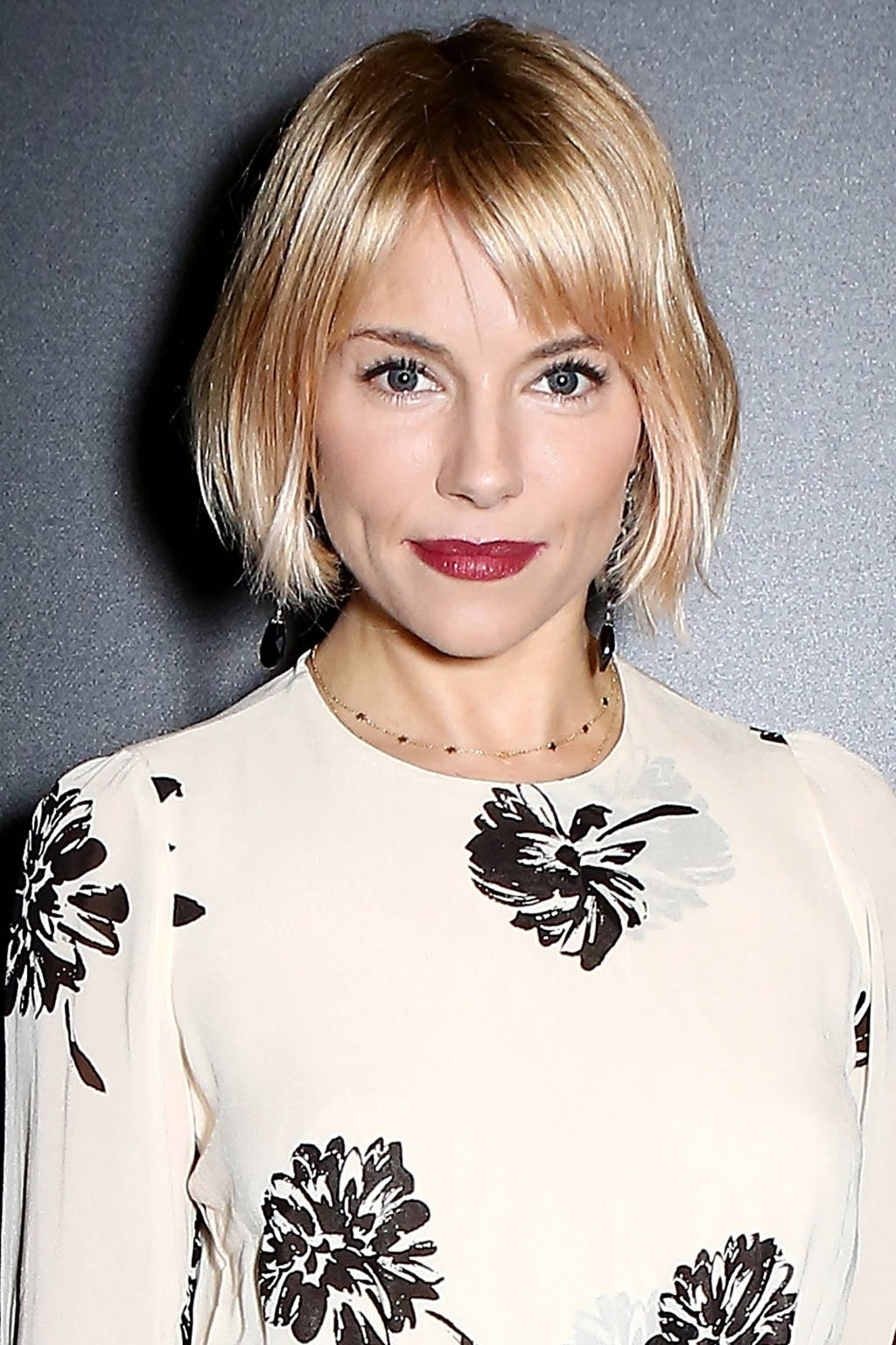 Trendy Cute Blonde Bob With Short Bangs Inside Blunt Short Hairstyles (View 13 of 20)