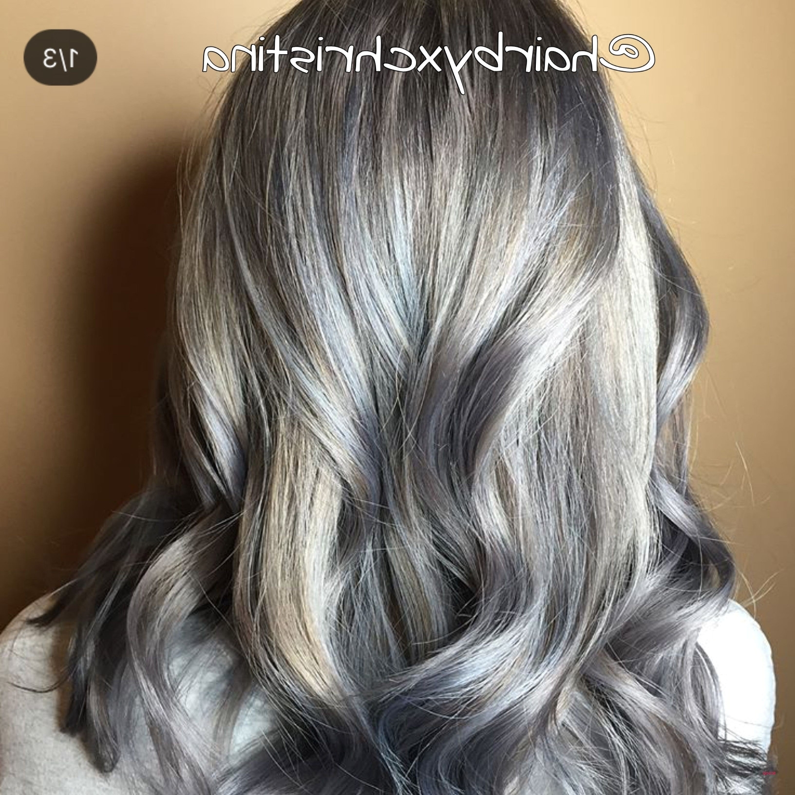 Trendy Icy Ombre Waves Blonde Hairstyles Within Icy Blonde Hair Color Awesome Cool Icy Ashy Blonde Balayage (View 15 of 20)