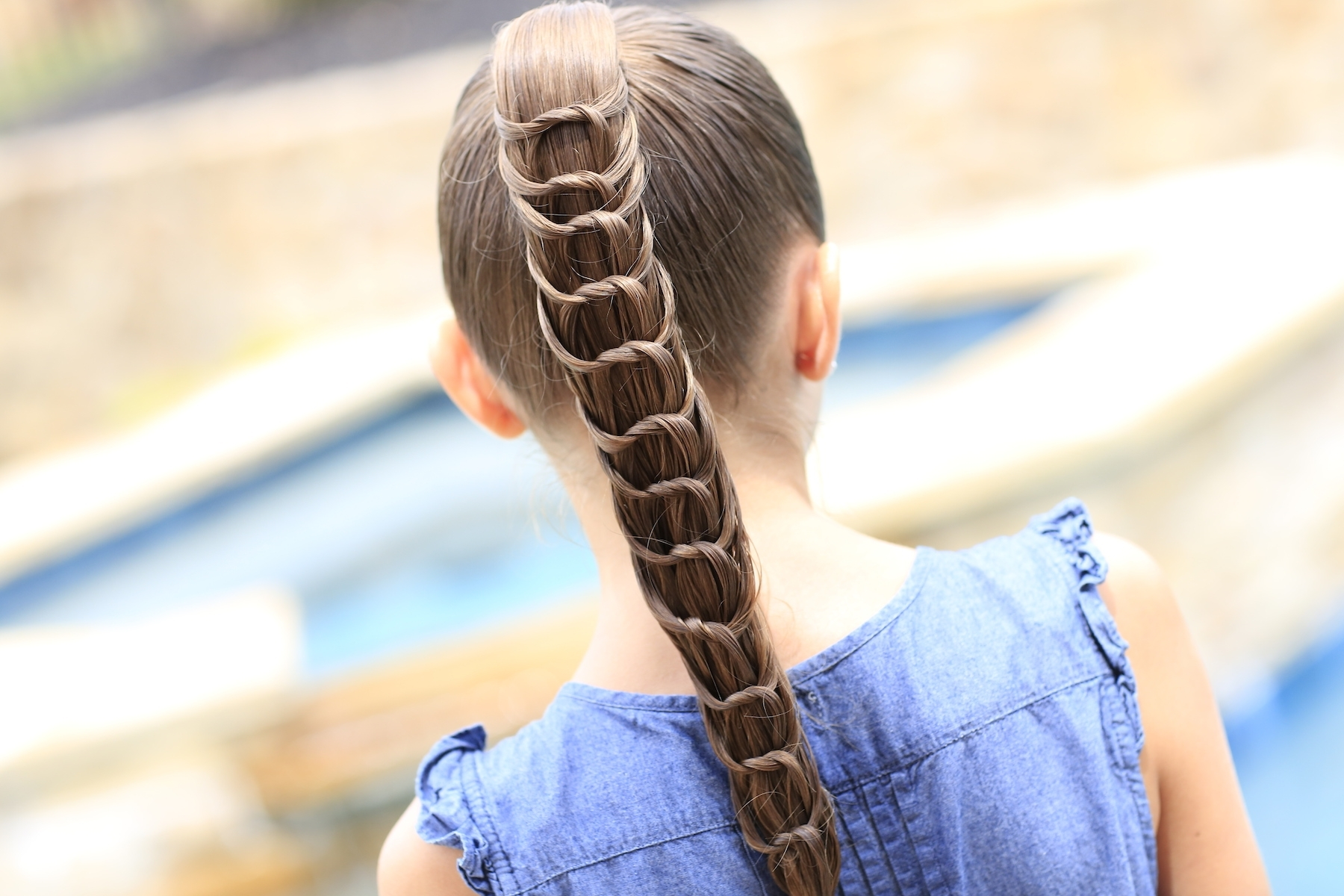 Trendy Knotted Ponytail Hairstyles Throughout The Knotted Ponytail (View 17 of 20)