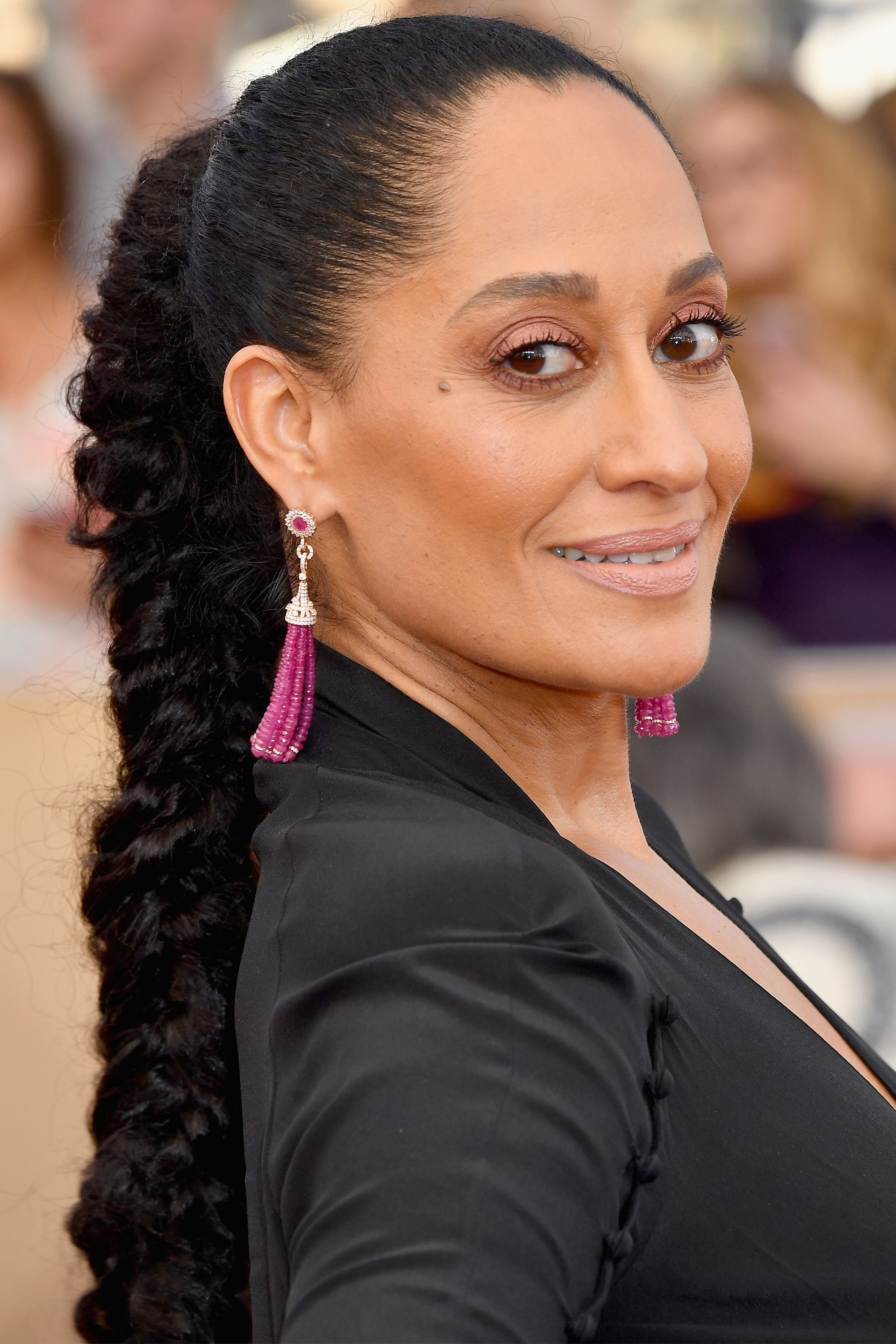 Trendy Long And Sleek Black Ponytail Hairstyles For 20 New Ways To Wear A Ponytail – Best Celebrity Ponytails Of  (View 20 of 20)