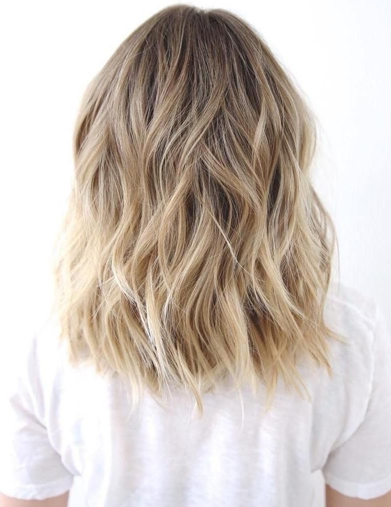 Trendy Medium Honey Hued Blonde Hairstyles With Regard To 50 Best Variations Of A Medium Shag Haircut For Your Distinctive (View 18 of 20)