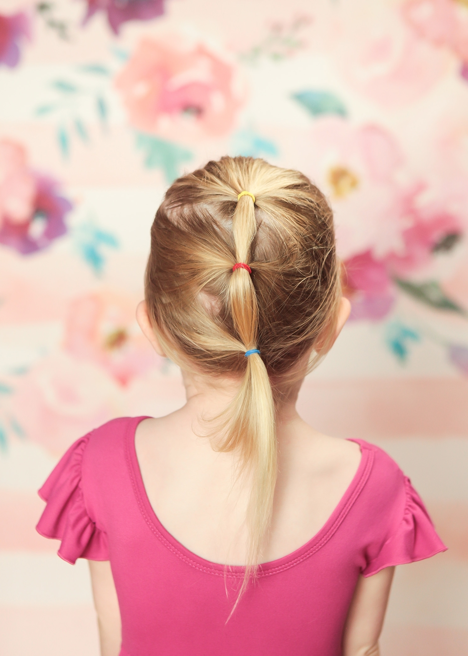 Trendy Ponytail Cascade Hairstyles For Toddler Hairstyles: 5 Ways To Dress Up A Kids' Ponytail – Lipgloss (View 19 of 20)