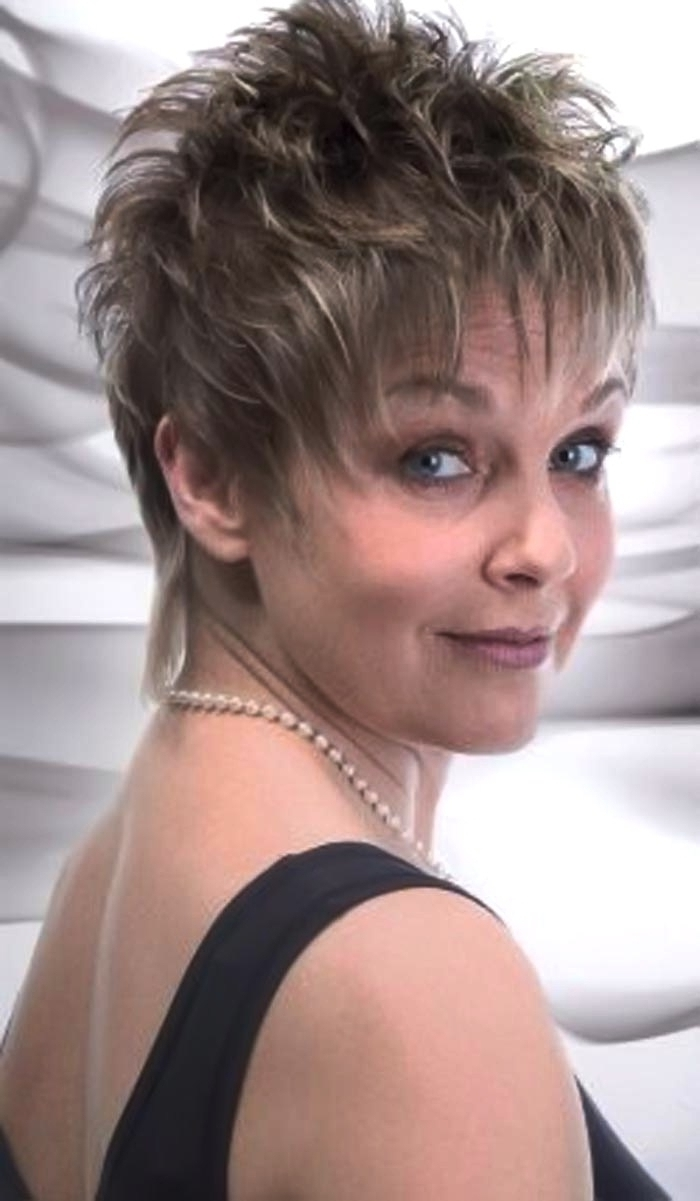 Trendy Sassy Pixie Hairstyles For Fine Hair For Perfect Hair Extension About Short Hairstyles For Women Over 60 With (View 19 of 20)