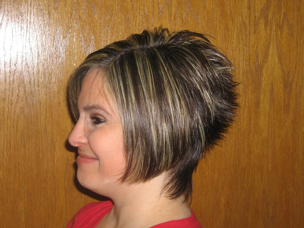 Trendy Stacked Pixie Bob Hairstyles With Long Bangs With Layered Short Hairstyles – 15 Perfect & Easy To Style Ideas (View 19 of 20)