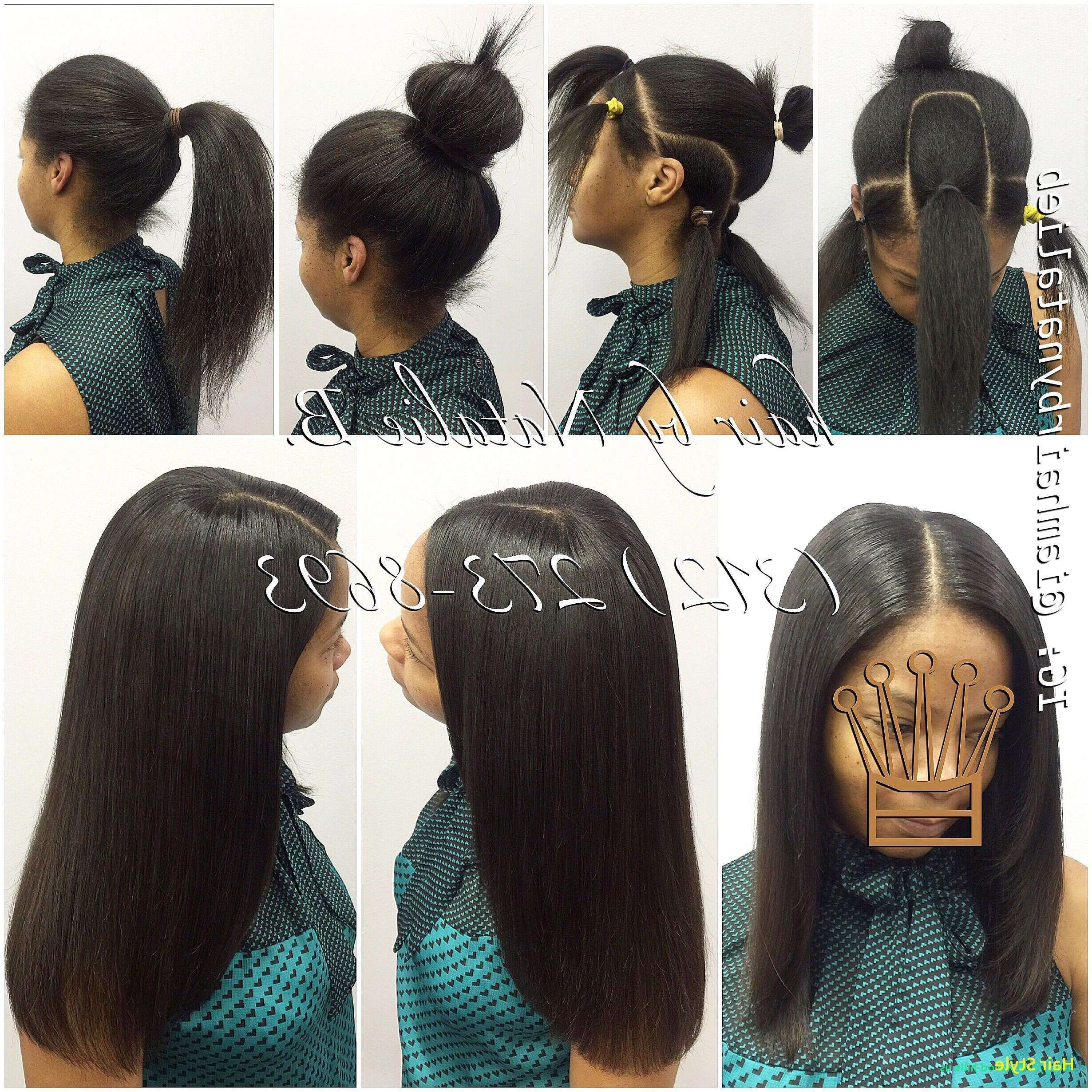 Trendy Weave Ponytail Hairstyles In 2 Ponytail Hairstyles Unique Sew In Weave Ponytail Hairstyles (View 16 of 20)