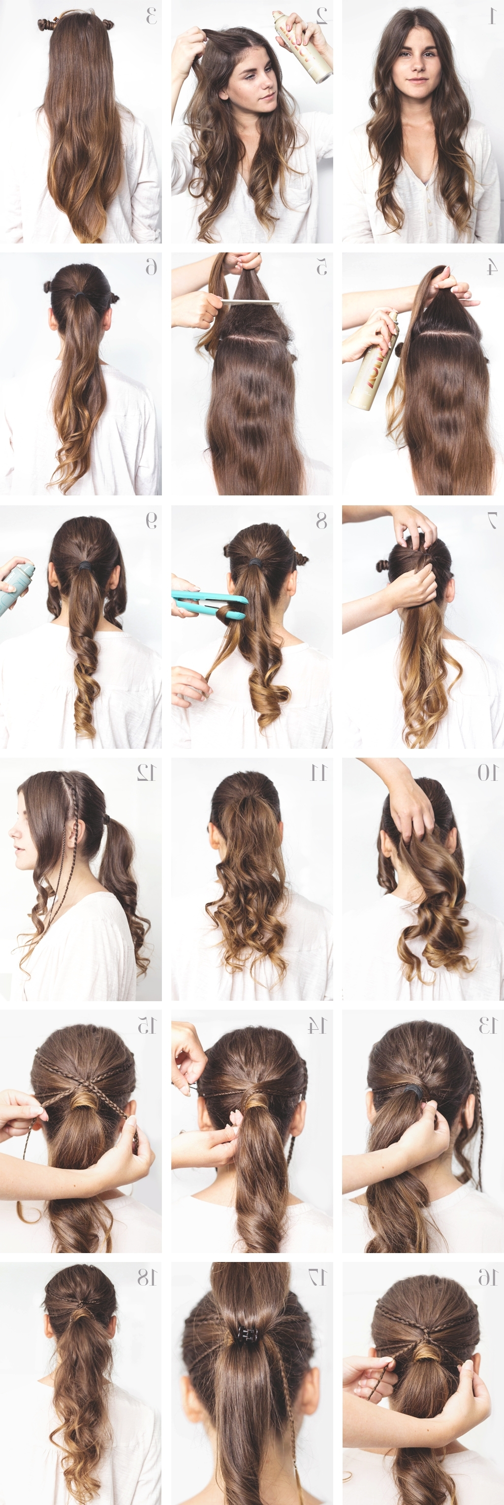 Tutorial: Voluminous Ponytail For Everyday › Thefashionfraction For Widely Used High Voluminous Ponytail Hairstyles (View 17 of 20)