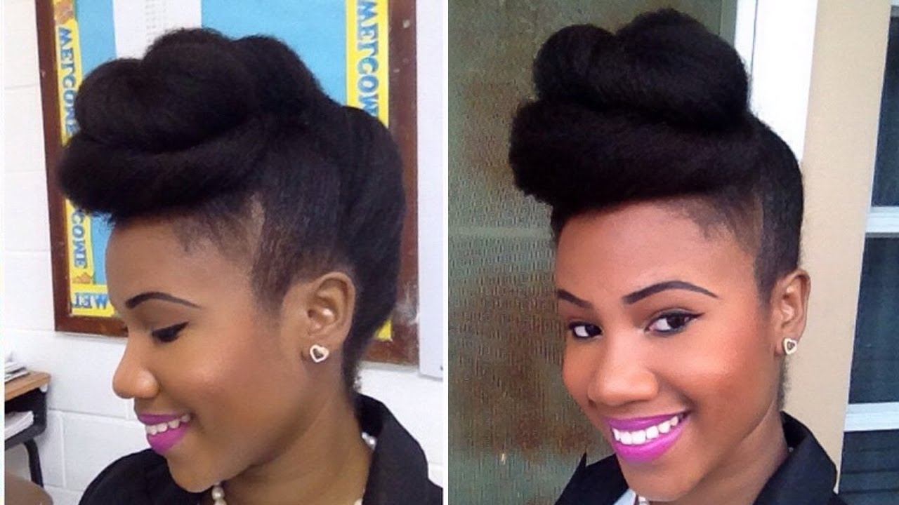 Twisted Pompadour (View 16 of 20)