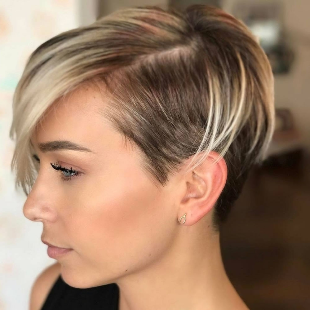 Undercut Pixie Hairstyles Magnificent Undercut Short Pixie Pertaining To Recent Undercut Pixie Hairstyles (View 15 of 20)