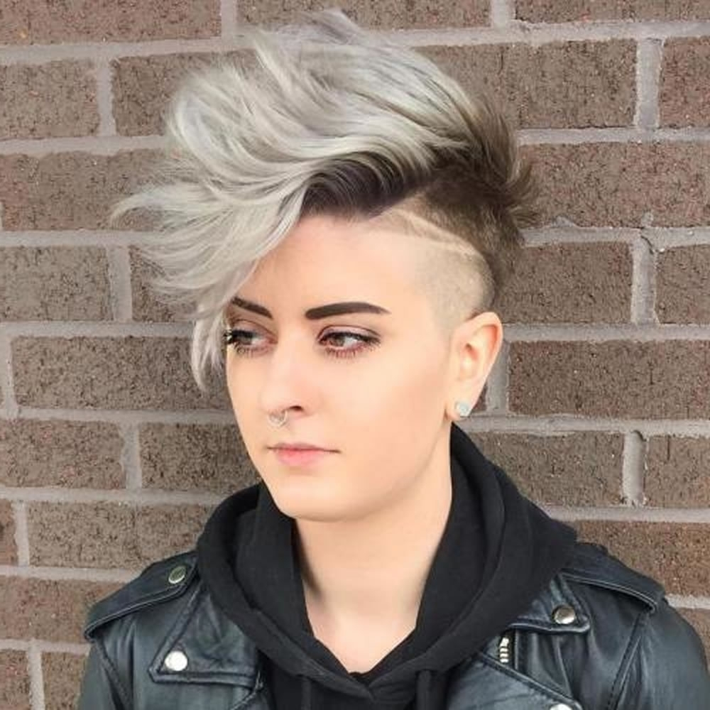 Undercut Short Pixie Hairstyles For Ladies 2018 2019 – Page 4 Regarding Famous Undercut Pixie Hairstyles (View 18 of 20)