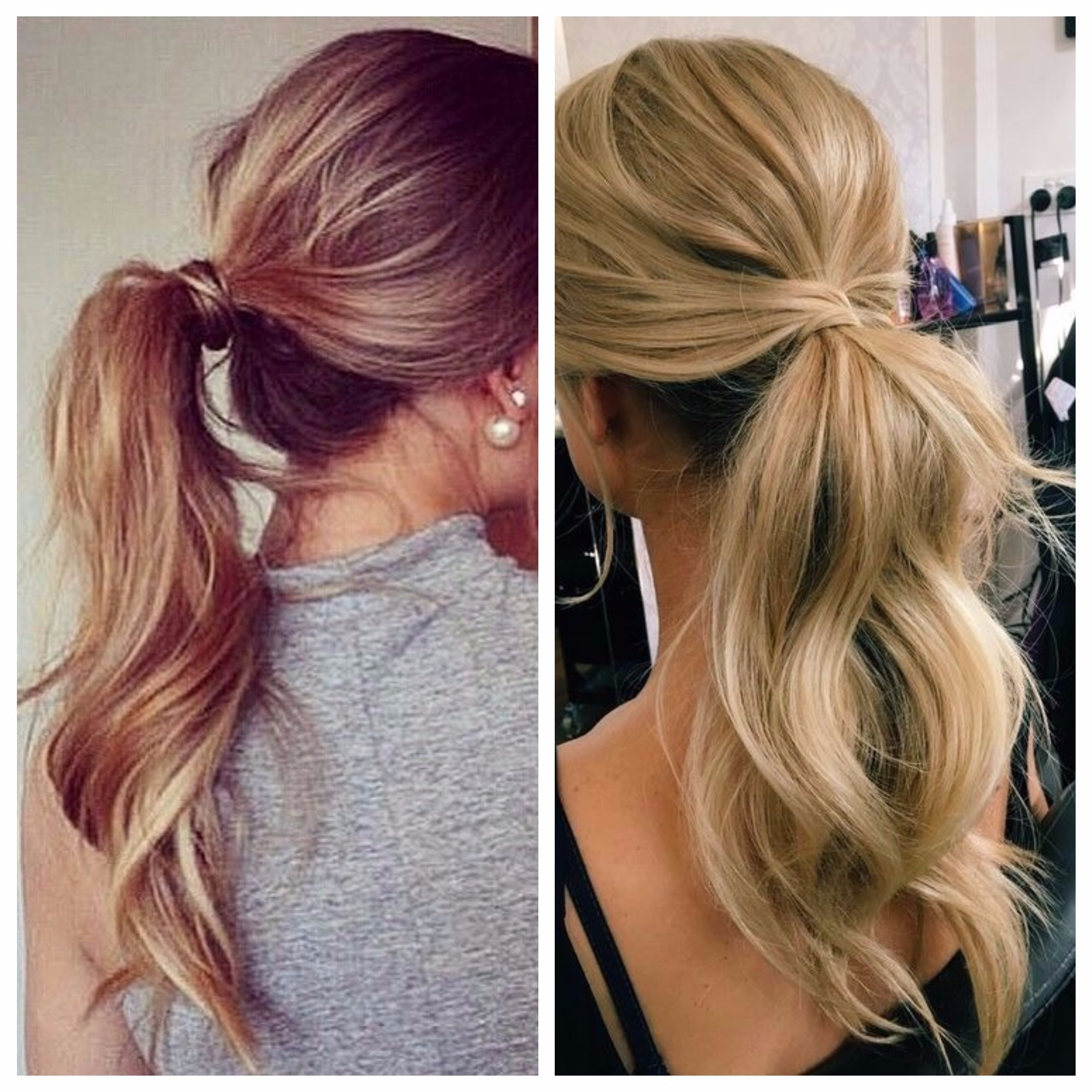 20 Best Ideas Of Ponytail Hairstyles For Fine Hair