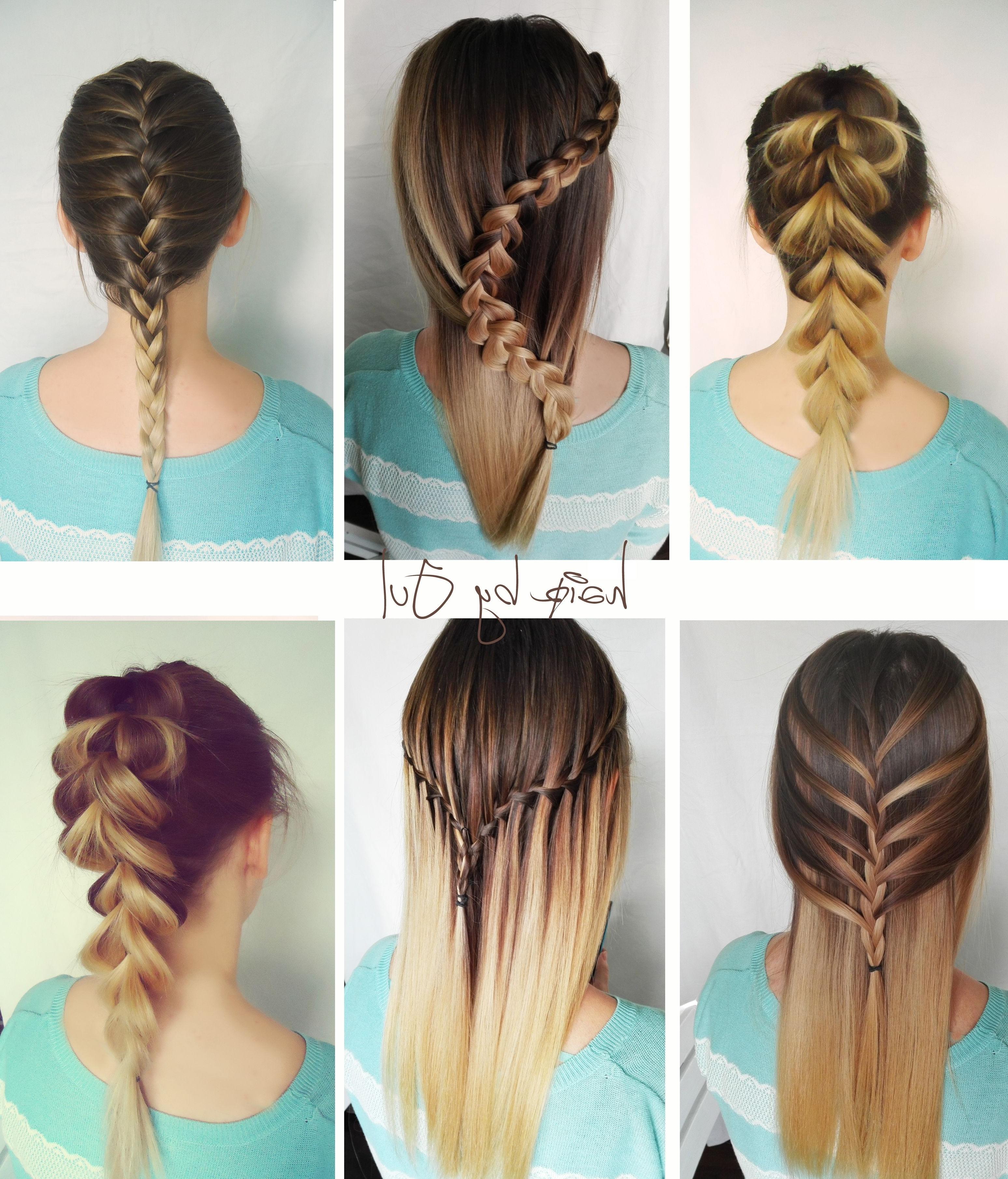 Warkocze, Warkocz Holenderski, Warkocz Francuski, Warkocz Wodospad In Popular Loose 3D Dutch Braid Hairstyles (View 20 of 20)