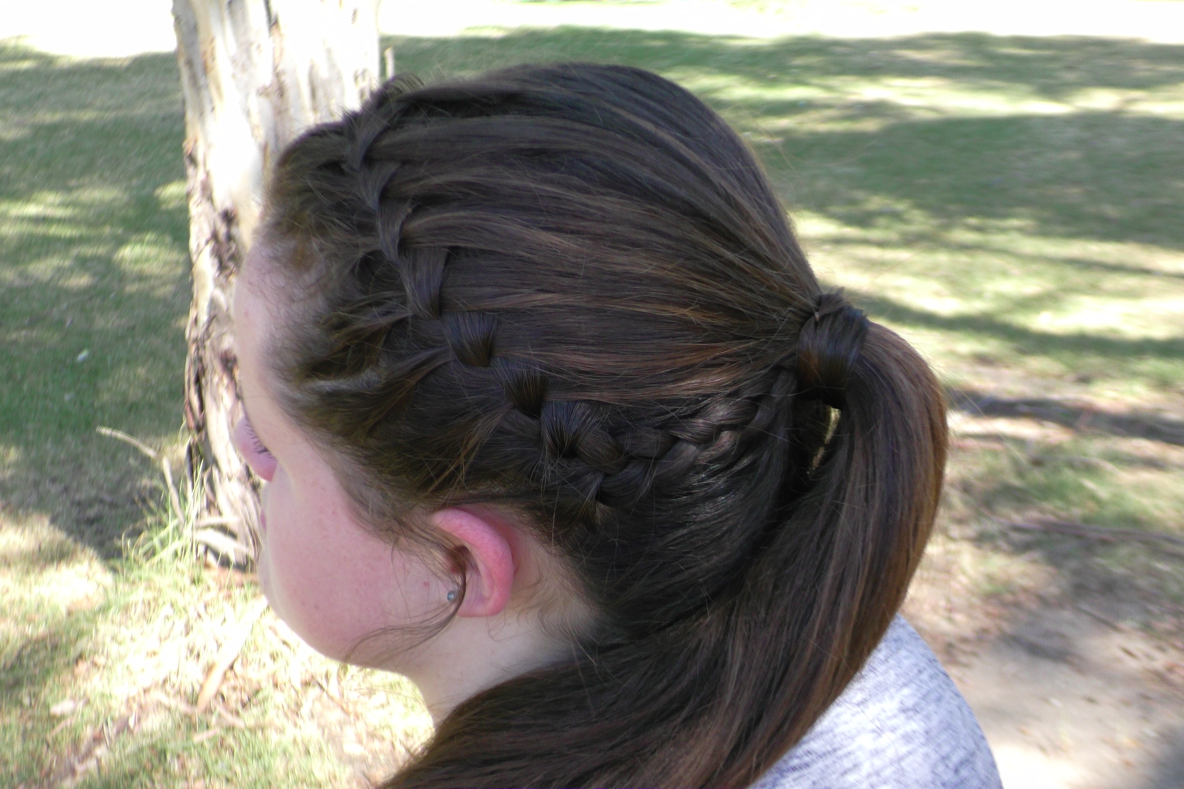 Waterfall Ponytail (View 19 of 20)