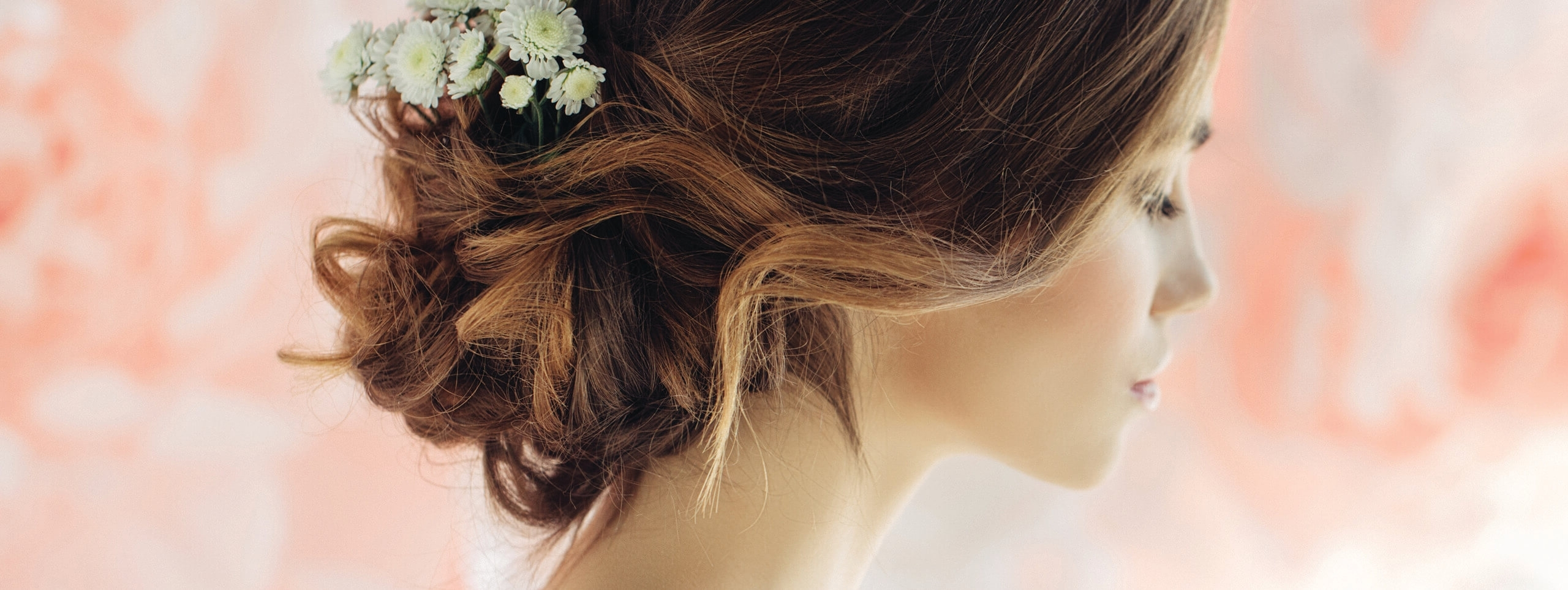 Wedding Hairstyles For Medium Hair For Most Recent Classy Flower Studded Pony Hairstyles (View 20 of 20)