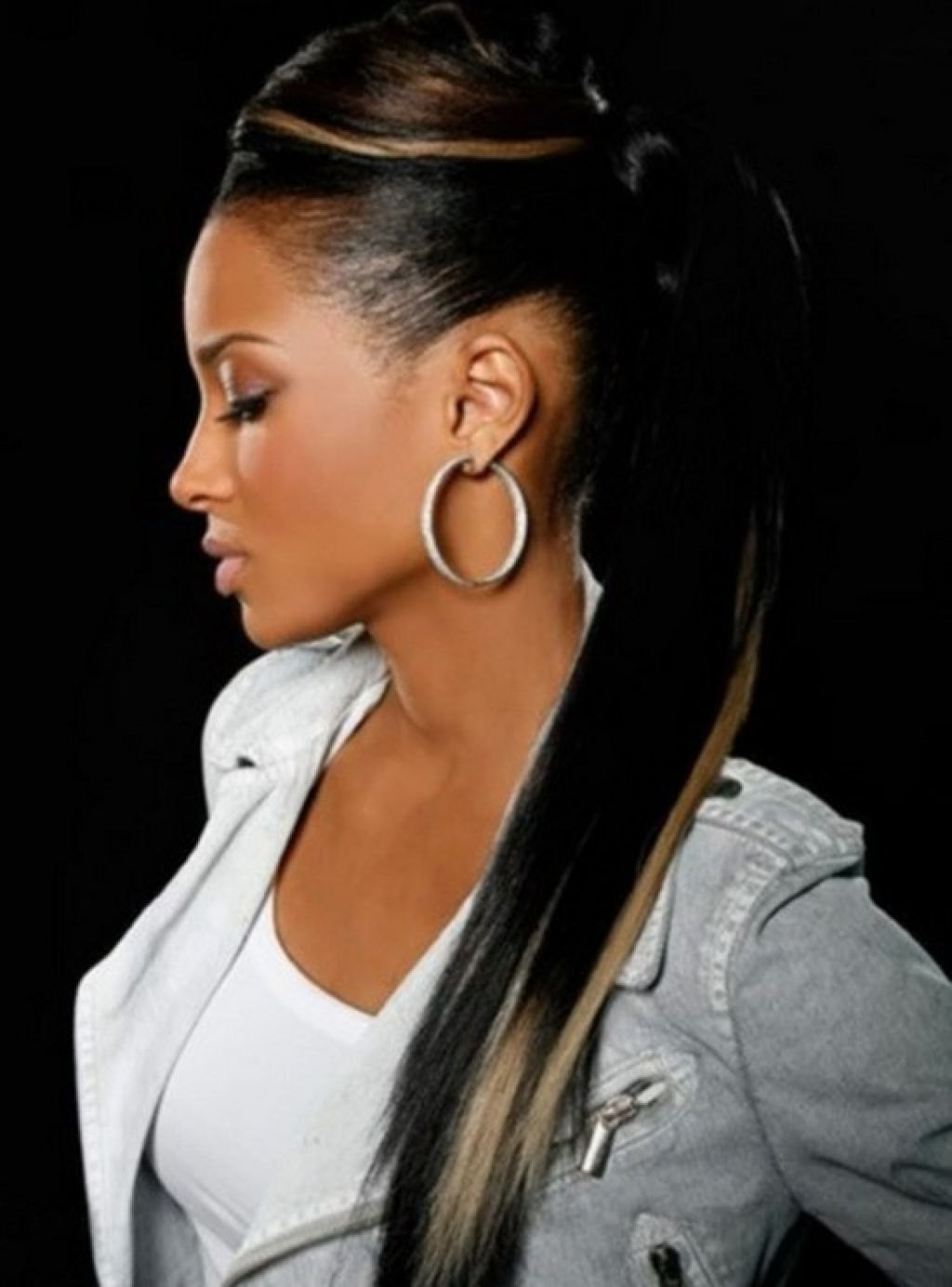 Well Known Afro Style Ponytail Hairstyles With African American Weave Ponytail Hairstyles Ponytail Wedding (View 19 of 20)