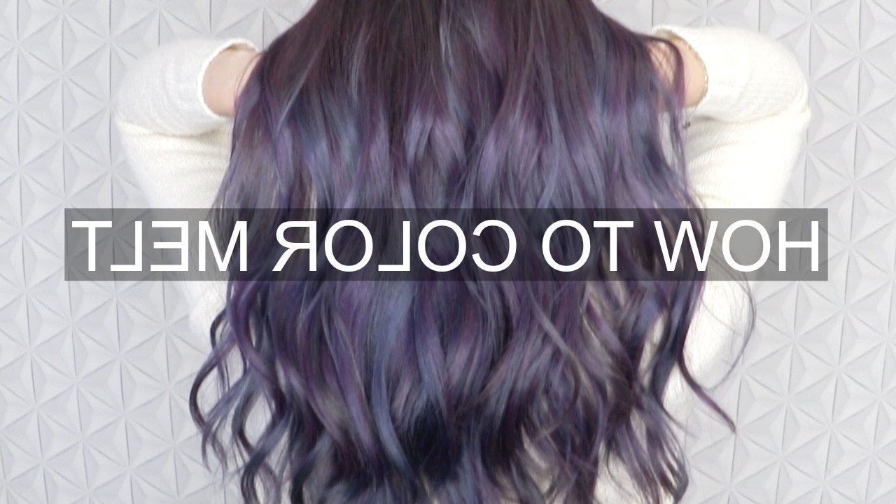 [%Well Known Blonde Color Melt Hairstyles Regarding Tutorial] How To Color Melt Hair – Youtube|Tutorial] How To Color Melt Hair – Youtube Throughout Popular Blonde Color Melt Hairstyles%] (View 1 of 20)