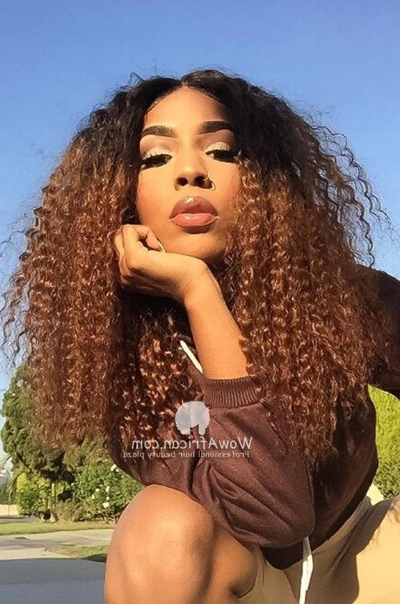 [%Well Known Brown To Blonde Ombre Curls Hairstyles Intended For Blonde Ombre Color Curly Virgin Brazilian Hair Lace Wig [Gfl26|Blonde Ombre Color Curly Virgin Brazilian Hair Lace Wig [Gfl26 For Favorite Brown To Blonde Ombre Curls Hairstyles%] (View 1 of 20)