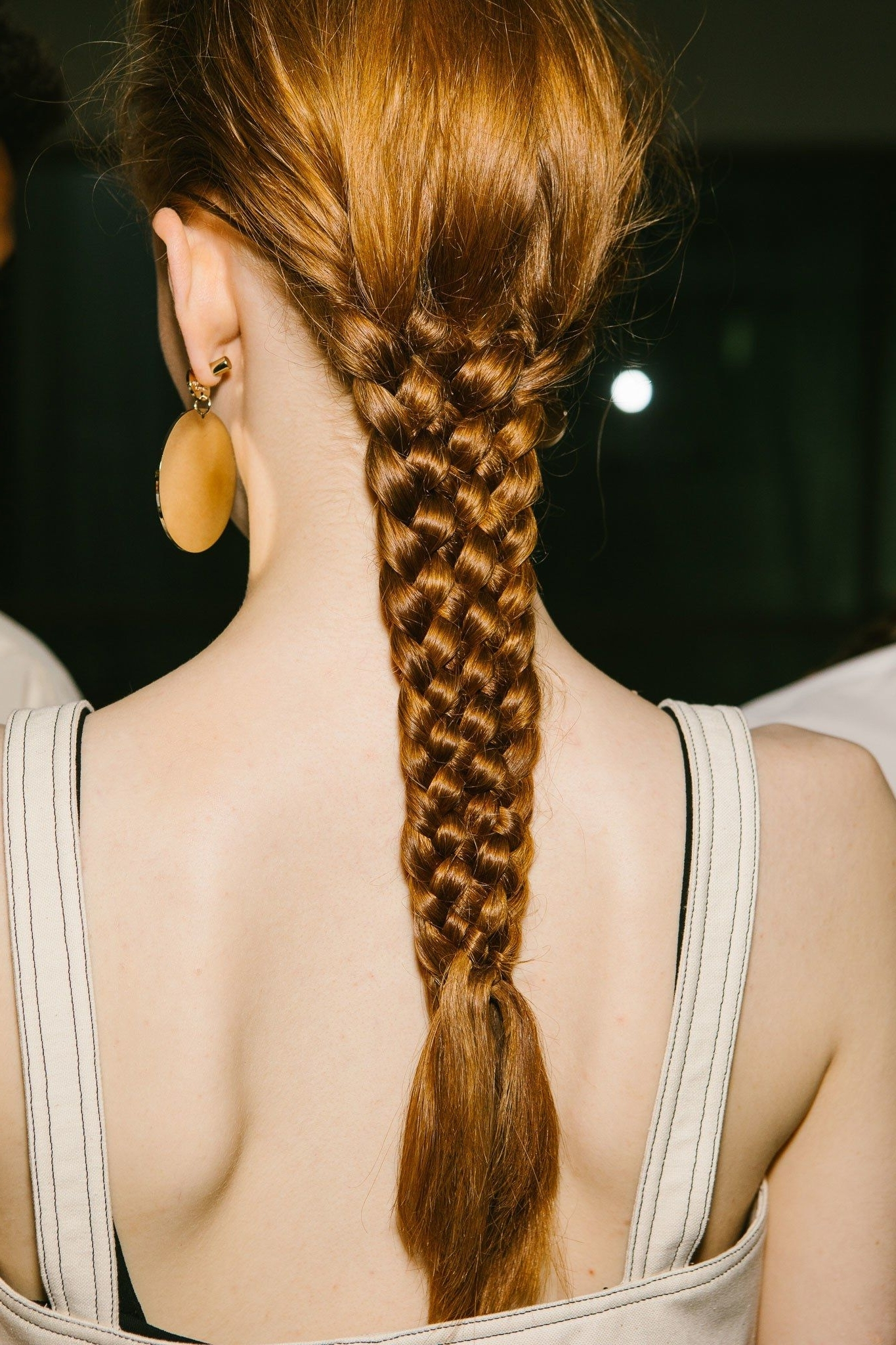 Well Known Brunette Macrame Braid Hairstyles With Jil Sander Just Won The Braid Game (View 18 of 20)