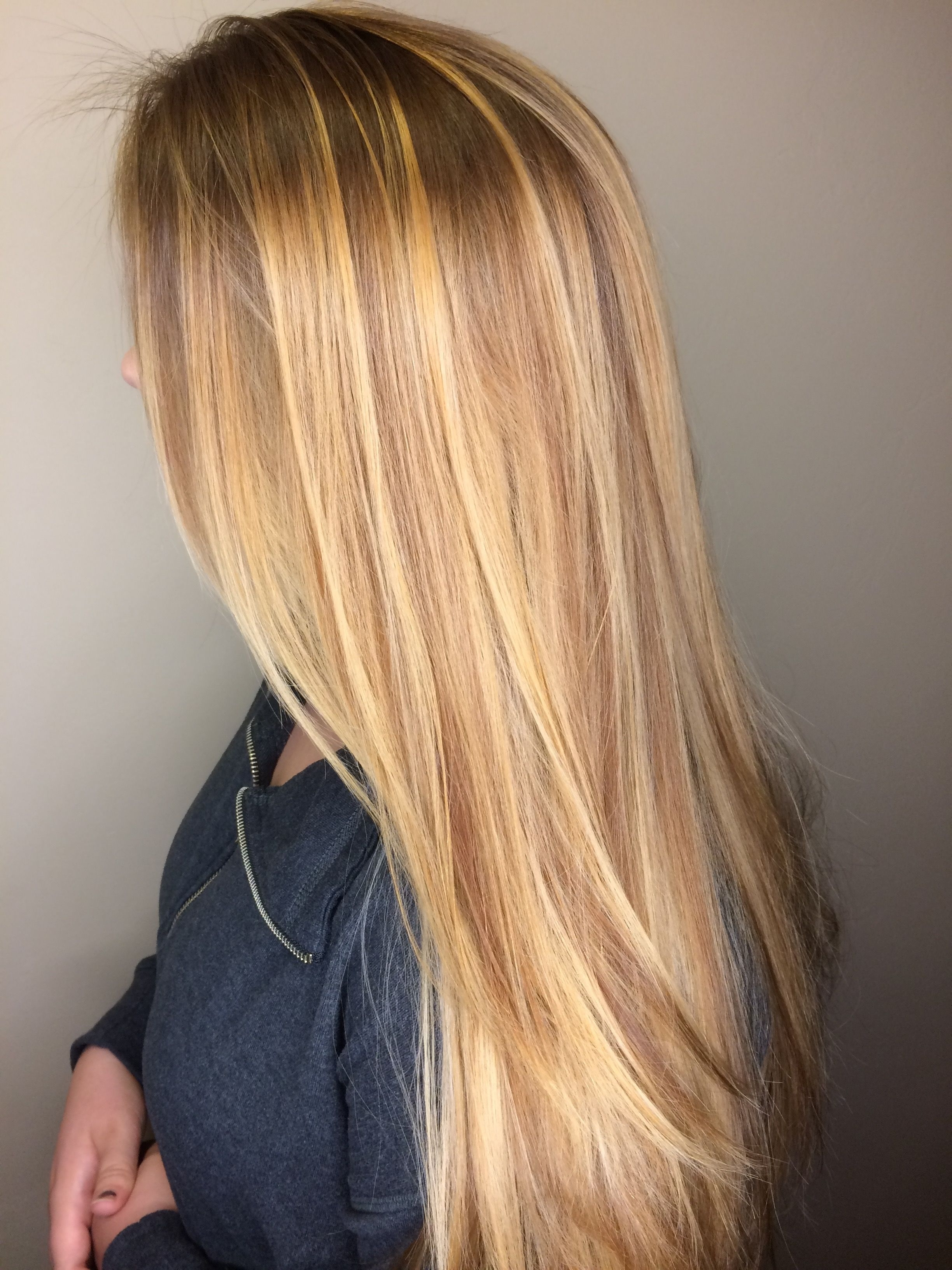 Well Known Buttery Highlights Blonde Hairstyles Intended For Honey Blonde / Golden Blonde / Long Hair / Balayage (View 17 of 20)