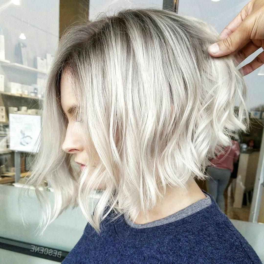 Well Known Classic Blonde Bob With A Modern Twist Within 7,436 Mentions J'aime, 72 Commentaires – Linh Phanhairstylist (View 20 of 20)