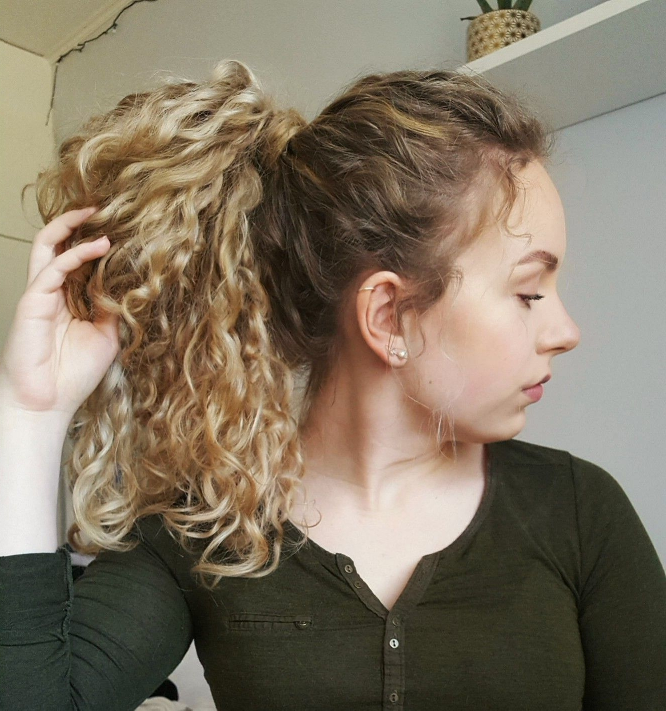 Well Known Curly Blonde Ponytail Hairstyles With Weave Within Image Result For Long Natural Curly Blonde Hair Ponytail (View 19 of 20)