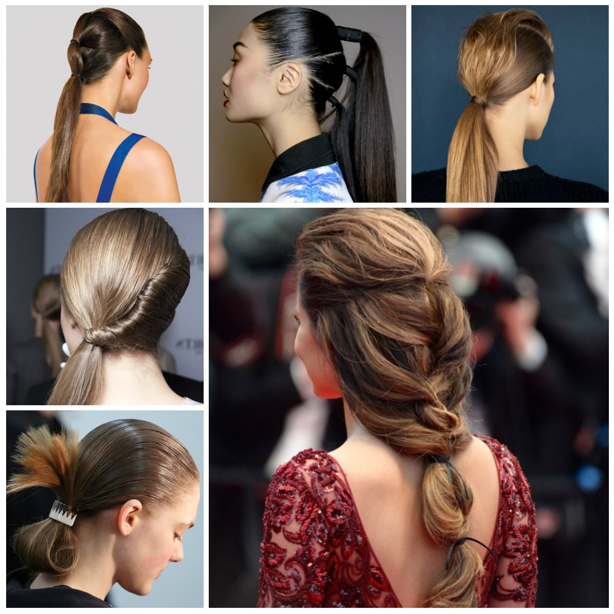 Well Known Curly Pony Hairstyles With A Braided Pompadour With Regard To Ponytail Hairstyles (View 18 of 20)