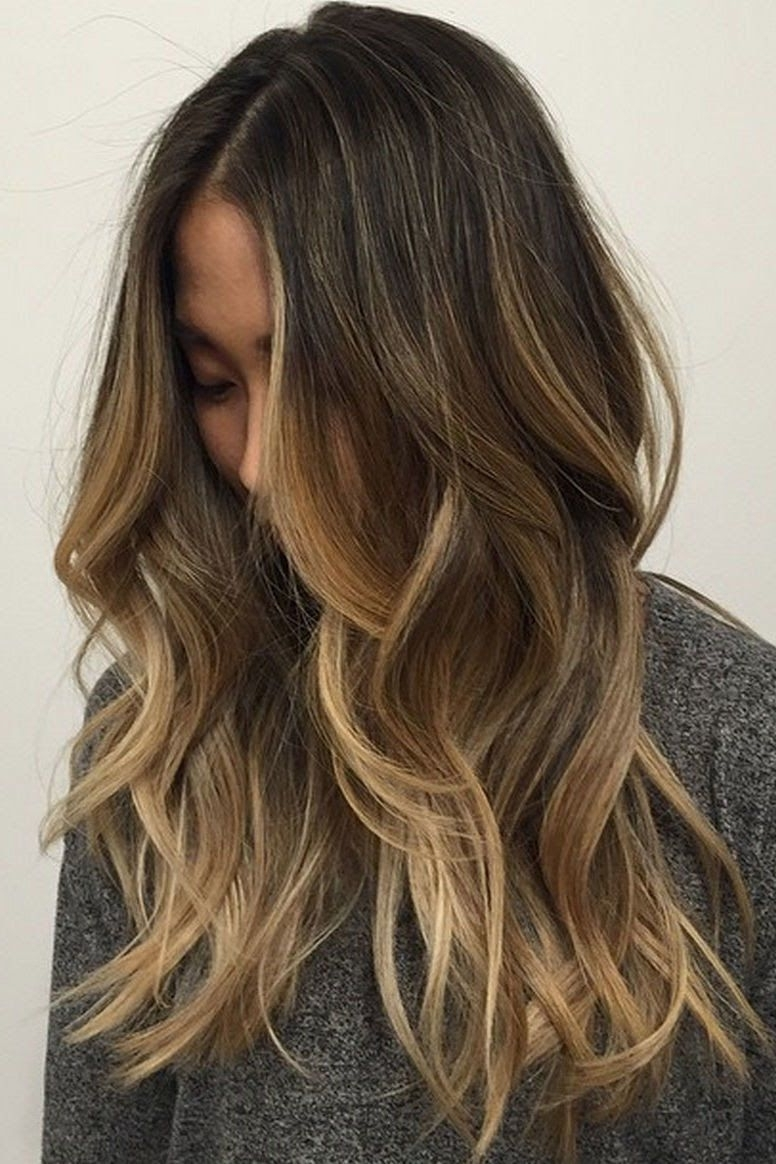 Well Known Dark Locks Blonde Hairstyles With Caramel Highlights Intended For Gorgeous Brown Hairstyles With Blonde Highlights (View 7 of 20)