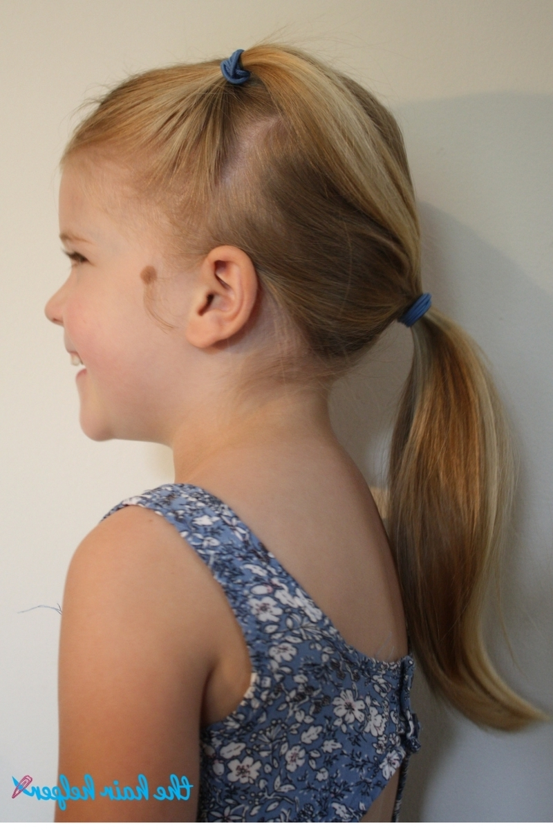 Well Known Double Tied Pony Hairstyles Inside 6 Easy Hairstyles For School That Will Make Mornings Simpler (View 15 of 20)