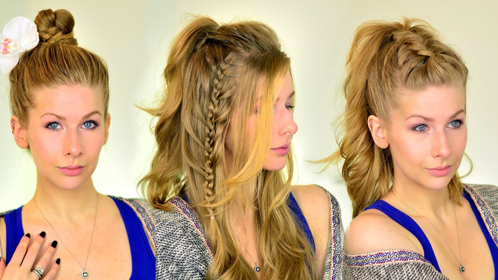 Well Known Dutch Inspired Pony Hairstyles Throughout 3 Festival Hair Tutorials (Gallery 13 of 20)