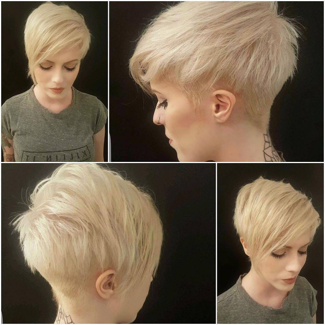 Well Known Finely Chopped Buttery Blonde Pixie Hairstyles Regarding 30 Chic Pixie Haircuts – Best Pixie Cuts We Love For (View 3 of 20)