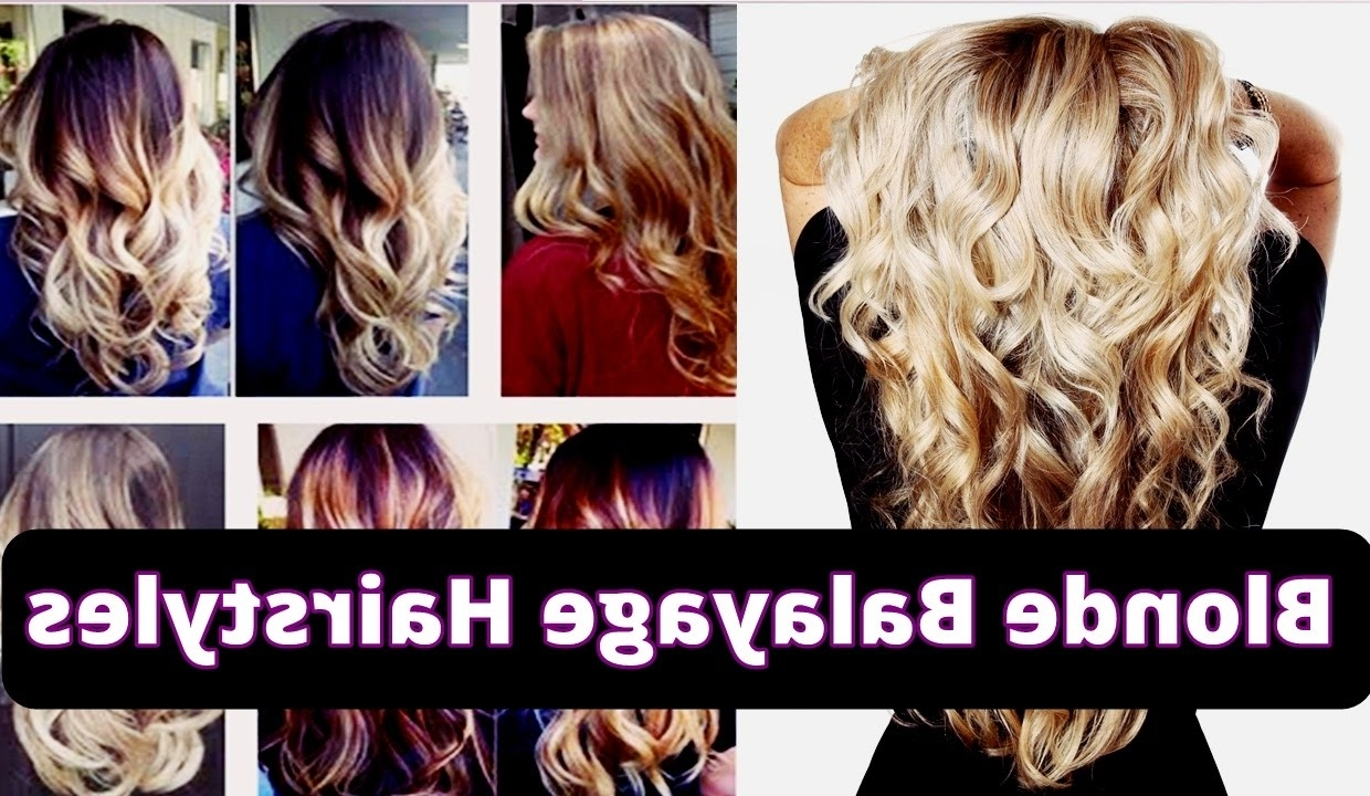 Well Known Golden Blonde Balayage Hairstyles With Regard To 30 Beautiful Golden Blonde Balayage Hairstyles With Long Hair  (View 16 of 20)