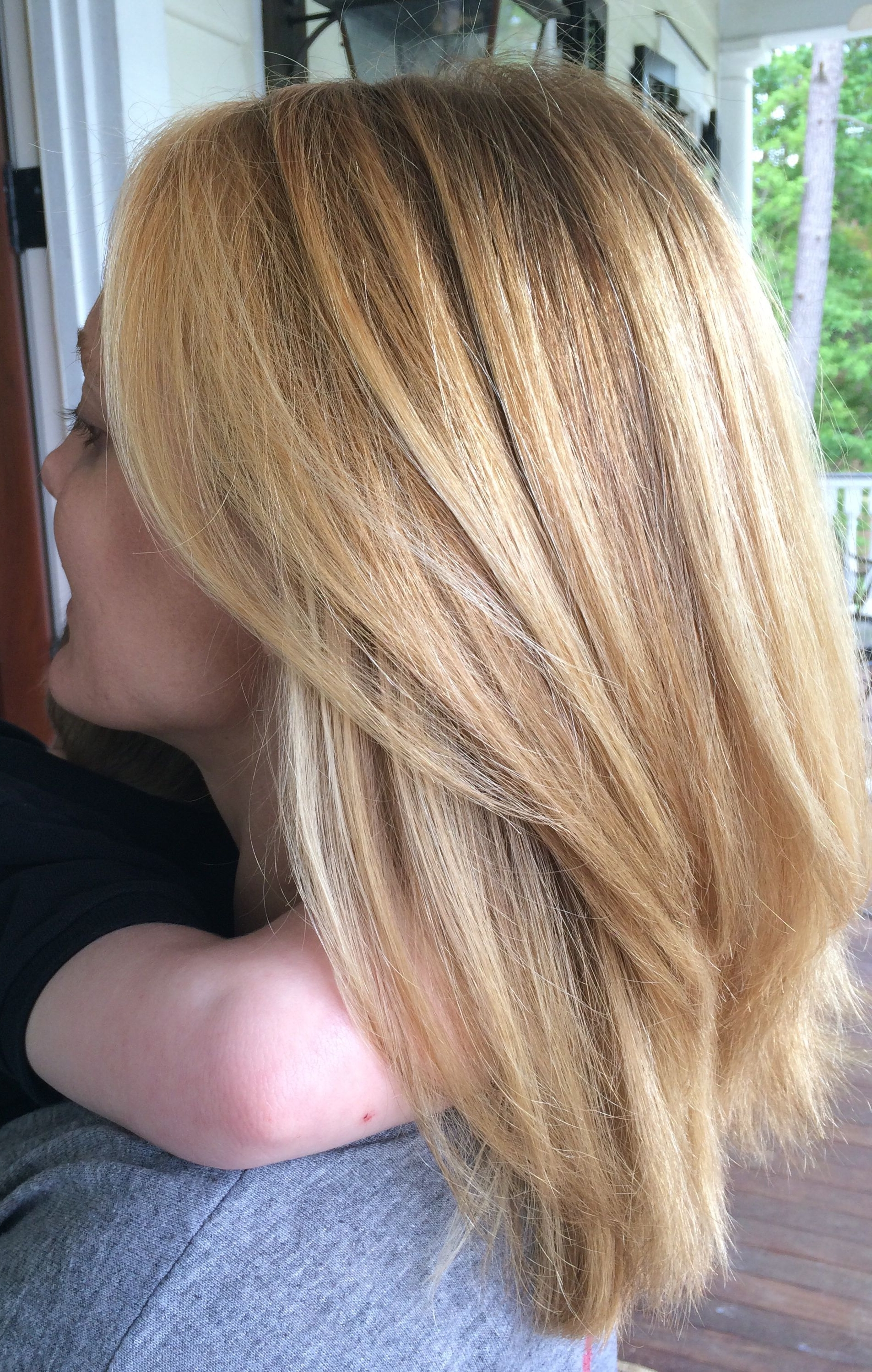 Well Known Golden Blonde Balayage Hairstyles Within Mid Length Blonde Hair / Balayage / Golden Blonde / (View 18 of 20)