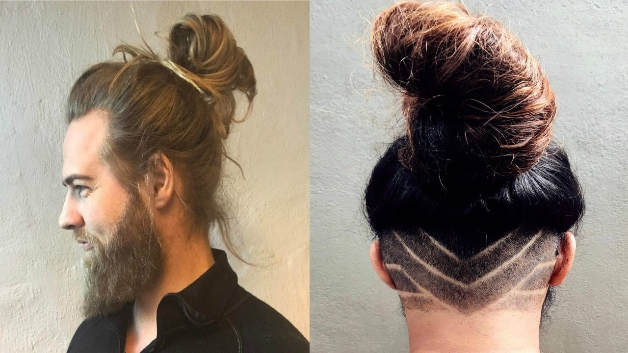 Well Known Hot High Rebellious Ponytail Hairstyles Intended For Eti's Advice On How To Create Sexy Man Bun Styles You Need To Know (View 7 of 20)