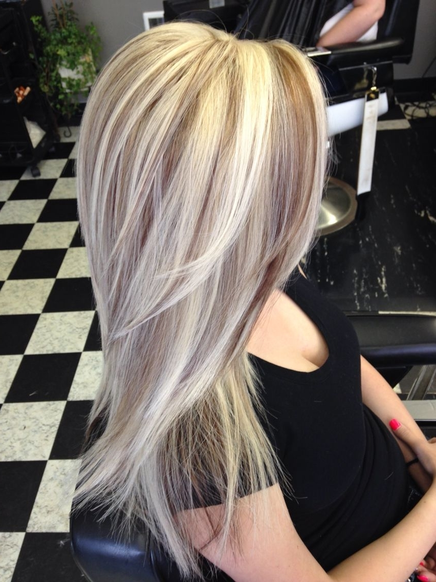 Well Known Light Chocolate And Vanilla Blonde Hairstyles With Pinelizabeth Vasquez On Hair Color (View 20 of 20)