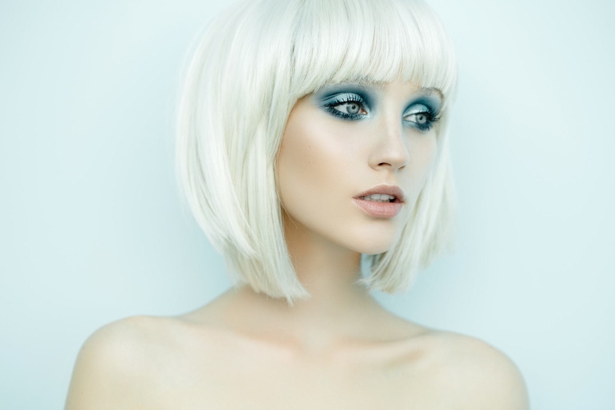 Well Known Long Blonde Bob Hairstyles In Silver White Throughout A Line Bob: 15 Of The Chicest Ways To Style This Angled Look (View 18 of 20)