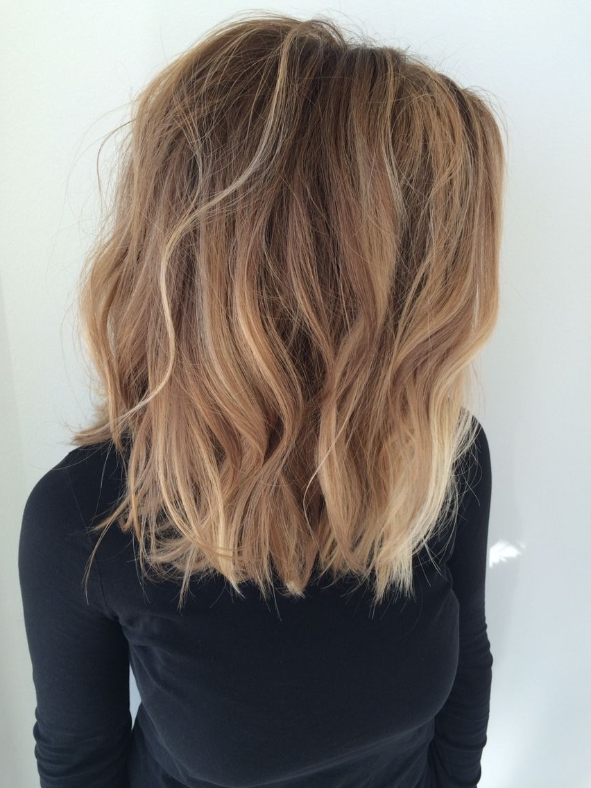Well Known Long Bob Blonde Hairstyles With Babylights Within 23 Cute Bob Haircuts & Styles For Thick Hair: Short, Shoulder Length (View 17 of 20)