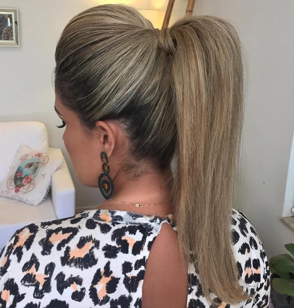 Well Known Long Braided Ponytail Hairstyles With Bouffant With The 20 Most Alluring Ponytail Hairstyles (View 7 of 20)