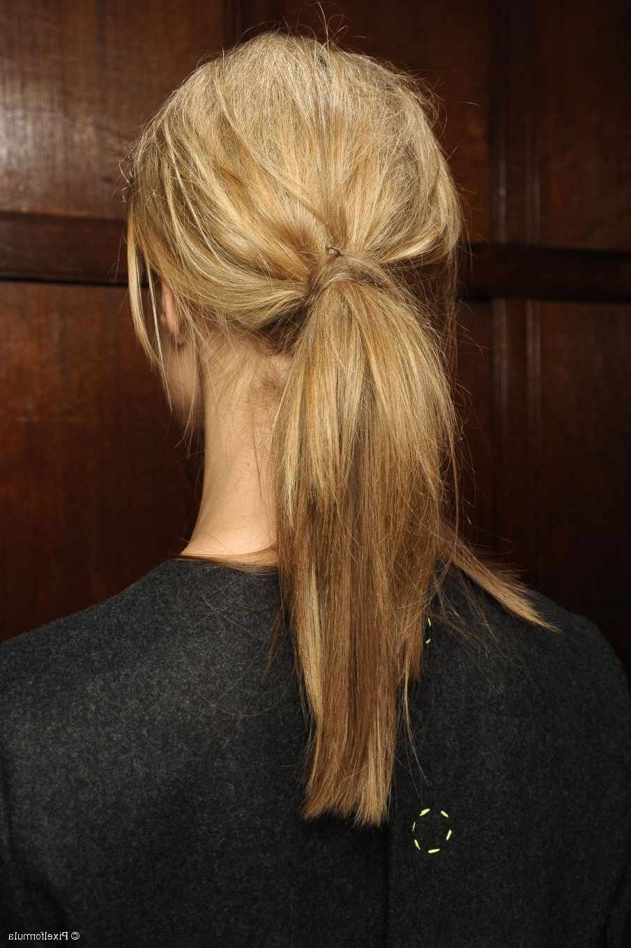 Well Known Low Ponytail Hairstyles With Waves With Valentine's Day Hairstyles: On Trend Low Ponytails (View 15 of 20)