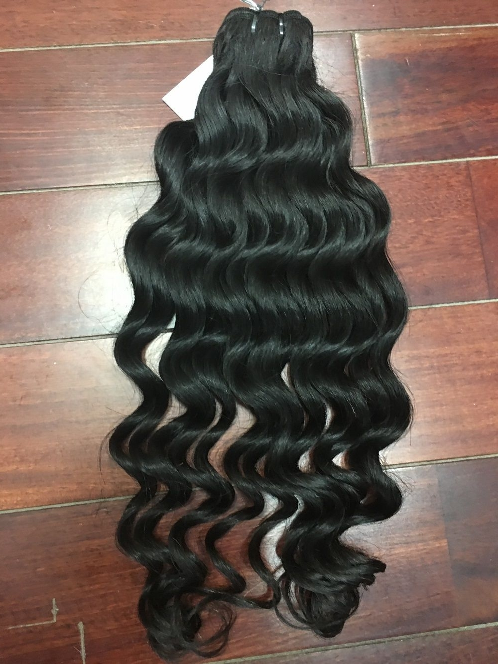 """Well Known Natural Color Waves Hairstyles Regarding Double Drawn Machine Weft Deep Curly Hair Natural Color 18"""" Deep (View 13 of 20)"""
