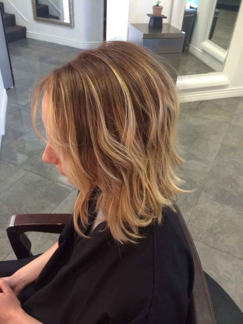 Well Known Ombre Ed Blonde Lob Hairstyles Intended For Short Hair Long Bob Balayage Blonde Subtle Ombré (View 3 of 20)