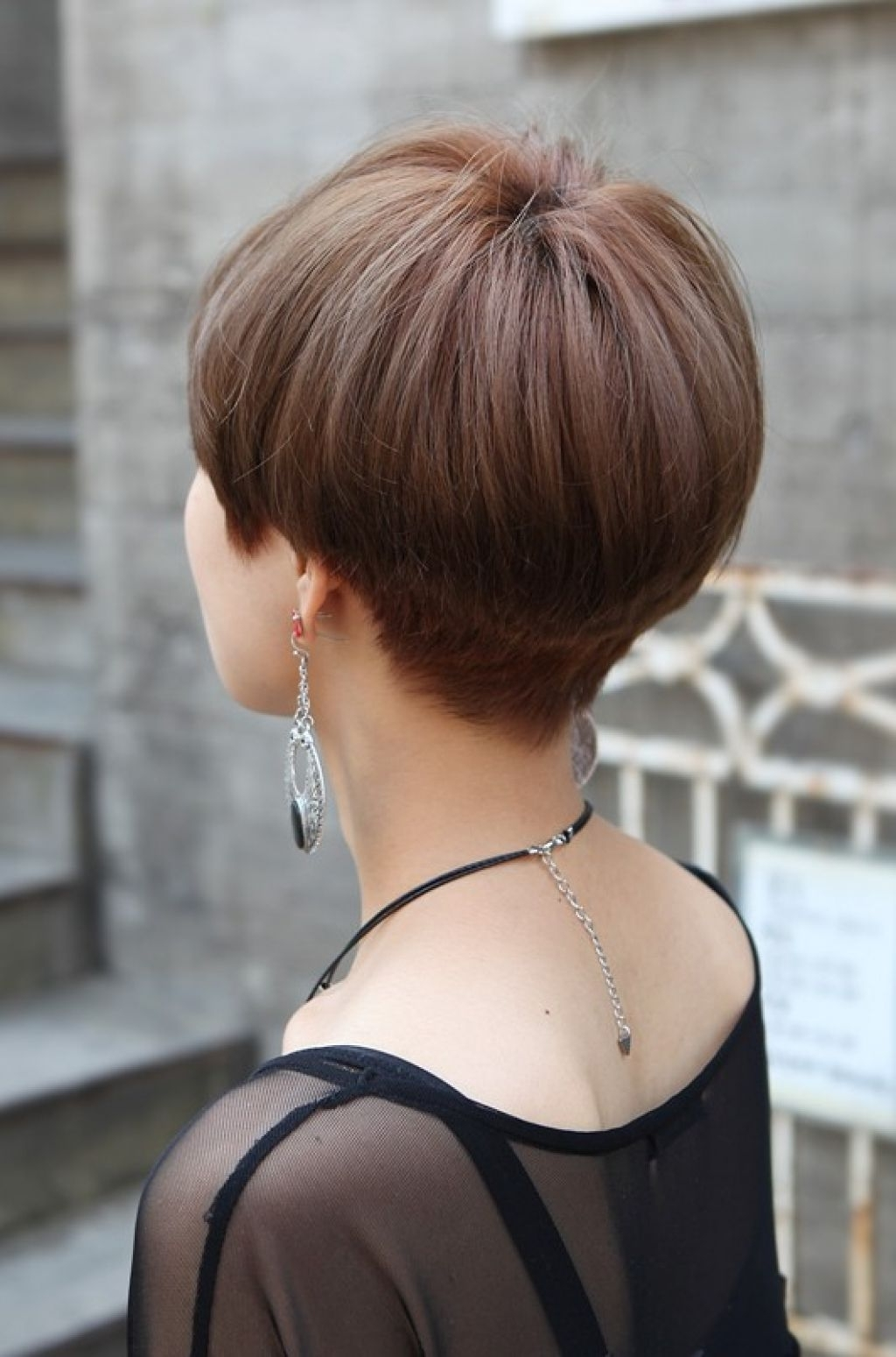 "Well Known Pixie Wedge Hairstyles For Related Posts Of ""back View Of Short Wedge Haircut"" (View 18 of 20)"