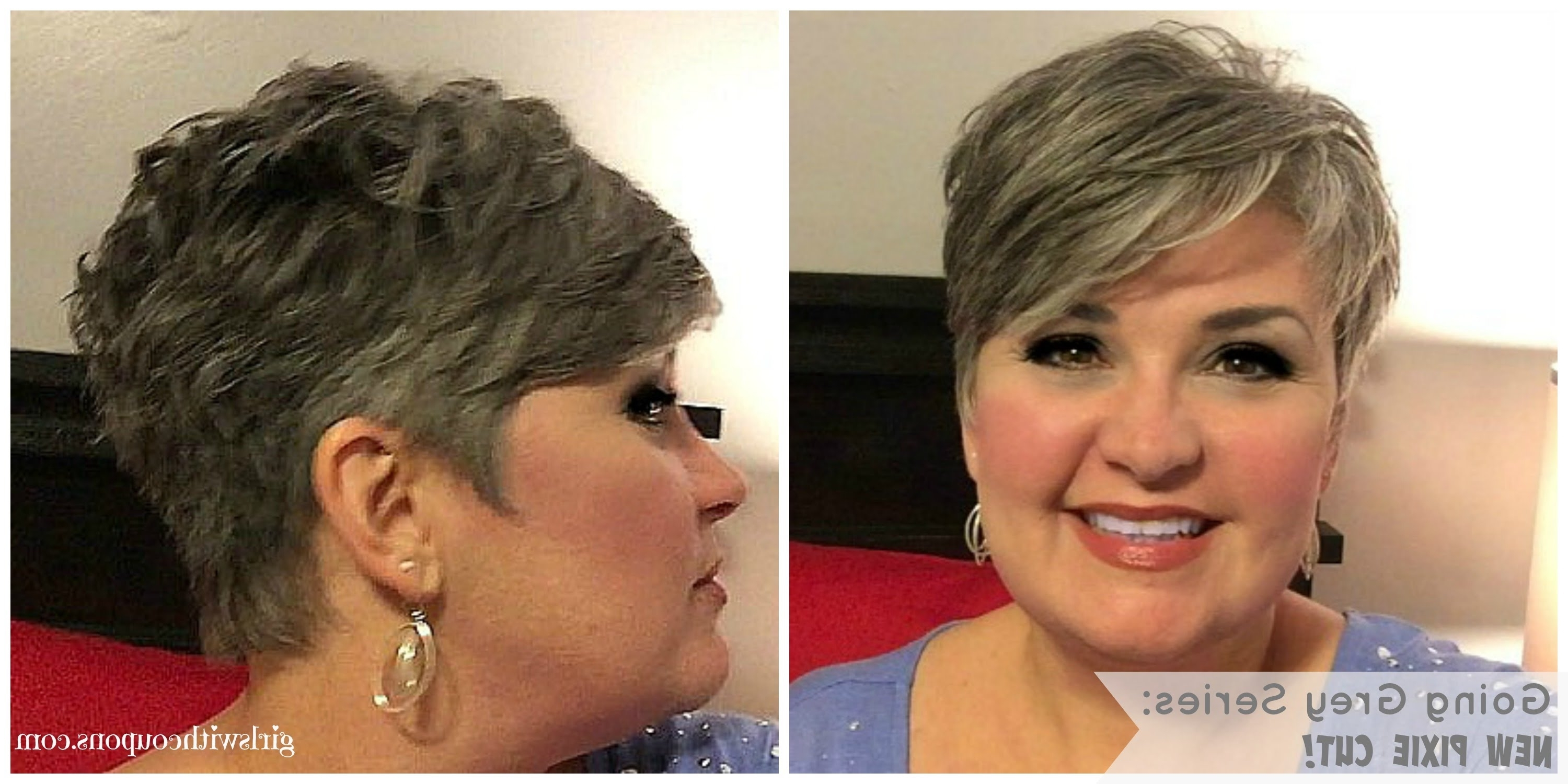 Well Known Silver And Brown Pixie Hairstyles With Regard To Going Grey Series: The New Pixie And Styling Paste For Short Hair (View 19 of 20)
