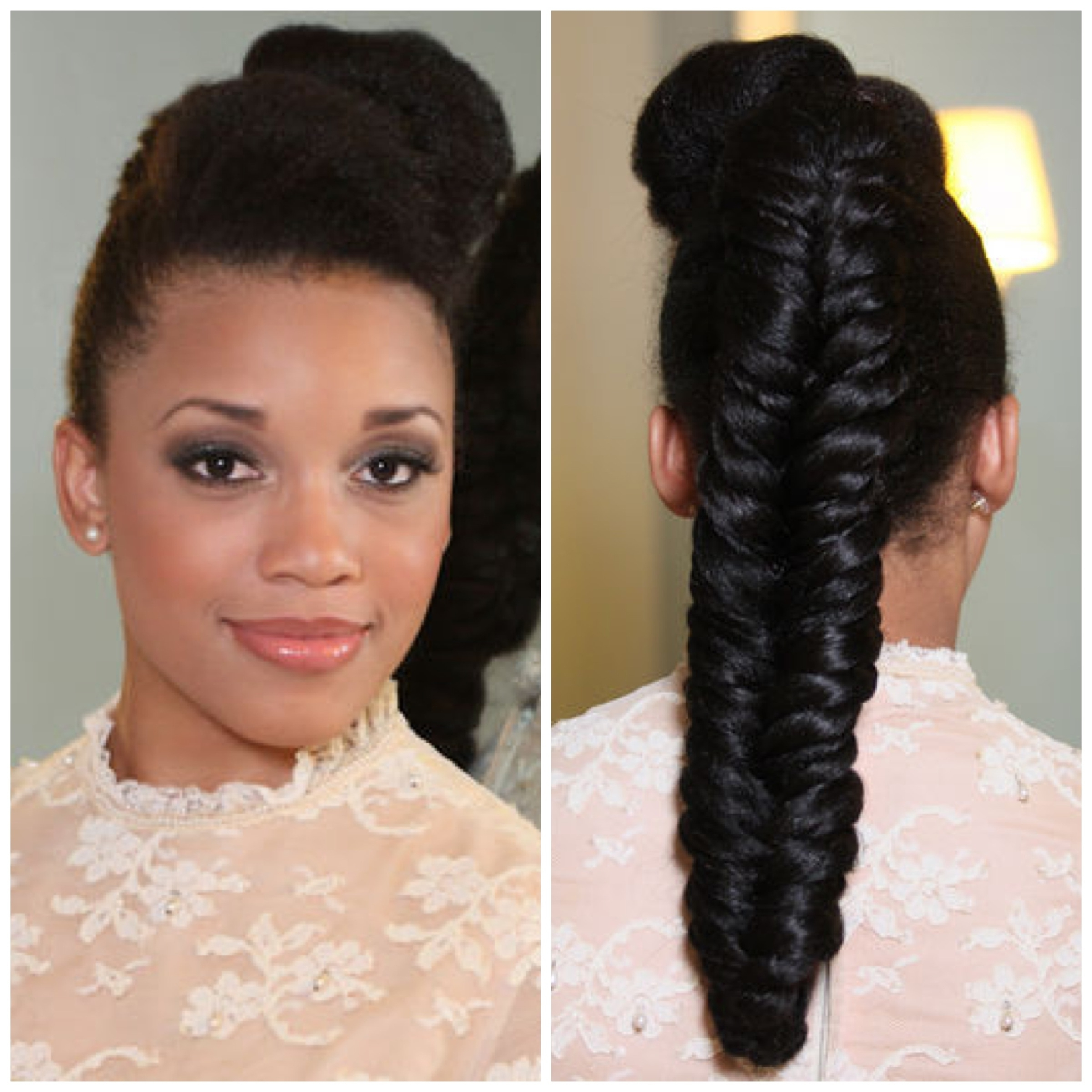 Well Known Sky High Pompadour Braid Pony Hairstyles Regarding Wedding Hairstyles (View 6 of 20)